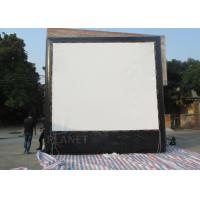 China Air Sealed Backyard Inflatable Movie Screen , Rear Projection Screen For Party on sale