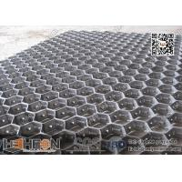 "AISI 316L Hex Mesh with lances 1"" and ¾"" thick 