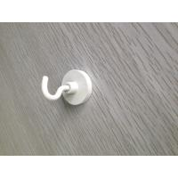 Zn Coated Custom Neodymium Magnets With Suction Hook Bright Blue Shining Color Manufactures