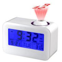 touch sensor alarm projection clock with LED /temperature,calender,timer Manufactures