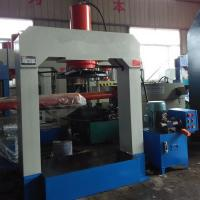 Forklift Pneumatic Tire Press Machine For 100ton  , 125ton Pressure / Tire Press Manufactures