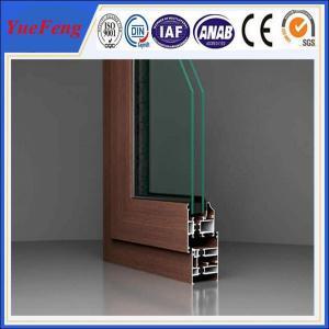 china big factory aluminum extrusion for windows and doors frame manufacturer Manufactures
