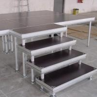 stage stair have good stability made by aluminum tube and 18mm plywood Manufactures