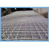 10mm Steel Bar Welded Wire Mesh Reinforcing Concrete Panel 6.2 X 2.4 M Size Manufactures