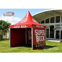 5×5m White Red Garden Canopy Tent with Various Colours and Windows for Party Manufactures