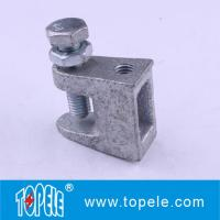 Quality Malleable Iron Beam Clamps, Pipe Fitters Galvanized Top Universal Beam Clamps for sale