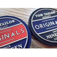 High Quality Customized Garment Labels 3D PVC Rubber Silicon Bag Label Patch Manufactures