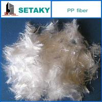 Quality polypropylene fiber for making concrete for sale