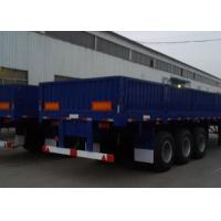 Buy cheap Tri Axle Heavy Duty Semi Trailers 40 Ton Normal Suspension SGS Approve from wholesalers