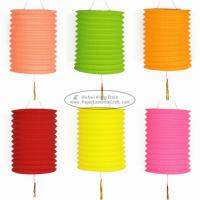 15 Cm Spring Garland Paper Lanterns Craft Diy Portable Handmade Christmas Ornaments Manufactures