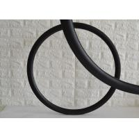 Clincher Bicycle 700c Carbon Road Rims U Shape Hookless Design Cycle Rim Manufactures