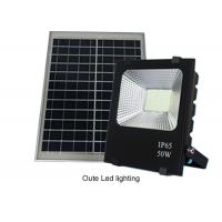 China 50W Solar Powered Led Flood Lights Outdoor / Solar Powered Motion Lights 13 Hours on sale