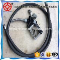 High performance 45mm heat resistant fiber braided  gas station rubber hose Manufactures