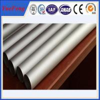 Polishing/anodized/electrophoresis aluminium pipes tubes rectangular aluminum tube Manufactures