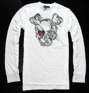 China Dean Dan T-Shirt Men Tops Cotton Tee Canada Long Sleeve #291 on sale
