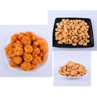 Delicious Cheese / BBQ Flavor Crispy Rice Cracker Mix With Advanced Fried Technology Manufactures