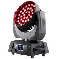 CE RoHs Free Shipping High quality 36X18W RGBWA+UV 6 in 1 Professional Moving Head Wash Fixture with Zoom Manufactures