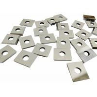 High Grade Solid Tungsten Carbide Tool Tips , Durable Recycling Carbide Inserts Manufactures