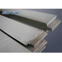 Cold Rolled Stainless Steel Flat Rod Polished Surface SGS TUV ISO Approved Manufactures
