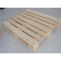 China 4 way entry wooden pallet on sale