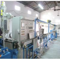 Quality 380 Voltage FEP ETFE Wire And Cable Manufacturing Machine For 2 Workers for sale