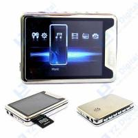2.8  Big Screen Metallic Case MP3 MP4 Video Audio PLAYER Manufactures