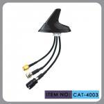 "Round Shape Car Gsm Gps Antenna , AM FM Car Antenna 12"" Cable Length Manufactures"