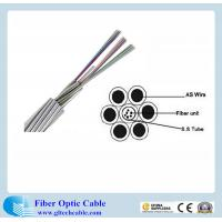Hot sale! OPGW cable optical fiber cable G652D 24 Core single mode Manufactures