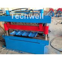 China Roof / Wall Panel Double Deck Roll Forming Machine , Double Layer Roll Former on sale