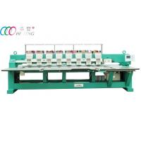 Mixed HFIII-908 8 Head High Speed Flat Embroidery Machine for Uniform / Jacket Manufactures