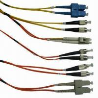 Fiber-optic Patch Cord, ST/SC/MTRJ/LC/FC, Cat5E/6 Network Cable, OEM Orders are Welcome Manufactures