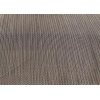 Flexible Balanced Weave Wire Mesh Belt High Carbon Steel For Drying Machine Manufactures