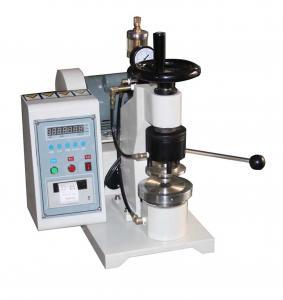 High Pressure Paper Testing Equipments , Manual Bursting Strength Tester Manufactures