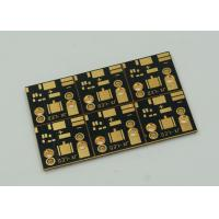 1 Layer Copper Clad PCB Board For High Power Led Lights Gold Finish Manufactures