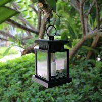 Sensor LED Solar Candle Lamp 5lm Imitation Twinkle Flash for Garden Umbrellar Manufactures