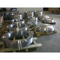 Heat Exchanger Steel Pipe Flange Customized Made Flat Face Flanges For Gas Manufactures