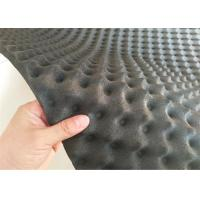 self-adhesive Foamily Black Colour Acoustic Foam Egg Crate Panel Studio Foam Wall Panel Manufactures