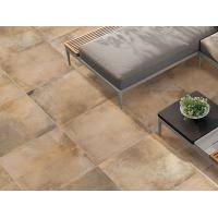 Hand Painted Cement Look Porcelain Tile / High Bright 300x300 Floor Tiles Manufactures