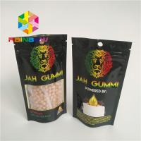 Buy cheap Printed Foil Laminated Mylar Ziplock Stand Up Pouches Mmj Weed Cannabis from wholesalers