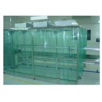 EBM Fan Pharma Clean Room Booth Anti - Static Dust Proof Curtain Manufactures