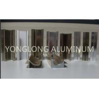 1.2 Thickness Bright Aluminium Shutter Profile High Hardness Of Paint Film Manufactures