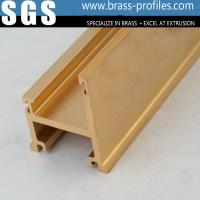 C3604 Costom Copper Alloy Hardware Lead Brass Extrusion Profiles Manufactures