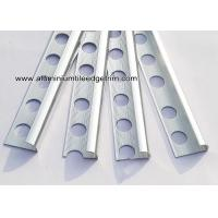 10mm Chrome Quadrant Aluminium Tile Edge Trim For Bathroom Tile Edging Manufactures