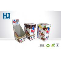 Buy cheap Corrugated Paper Counter Display Boxes Spot Color Printing For Coffee from wholesalers