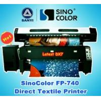 China Digital Textile Printer SinoColor FP-740, Direct Flag Printing on sale