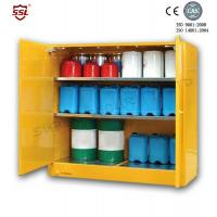 1.2MM  Steel Chemical Equipment Storage Cabinets for Minel / Lab / Huge Drums Stock Manufactures