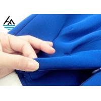 SBR Colored  Neoprene Fabric Sheets Ployester Textured Rubber Sheet Manufactures