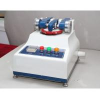 Rotary Taber Abrasion Tester Rubber Testing Equipment wear resistance of skin Manufactures