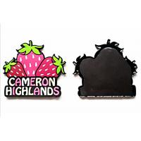 Modern Type Soft Fridge Magnets Injection Logo Technics Offered Freely Design Manufactures