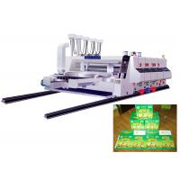 4 Color Flexographic Printing Machine Carton Box Manufacturing Machine Manufactures